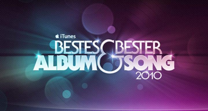 iTunes Bestes Album - Bester Song 2010 © iTunes S.à.r.l.
