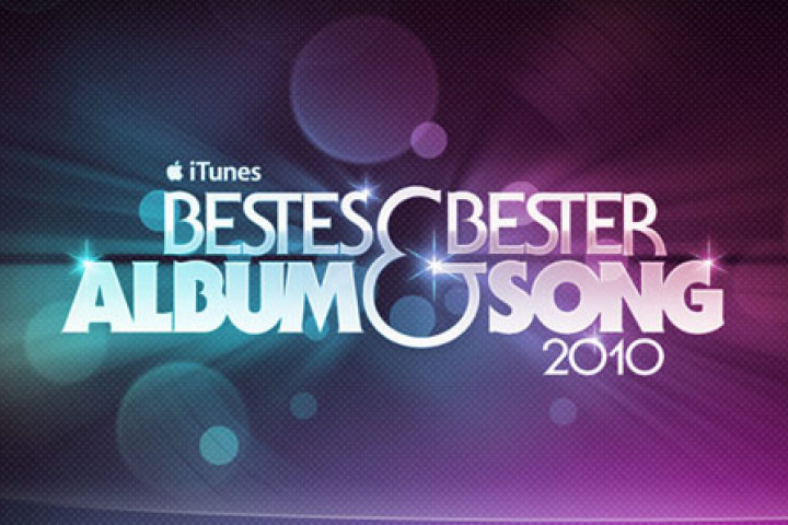 iTunes Bestes Album - Bester Song 2010 © iTunes S.à.r.l.