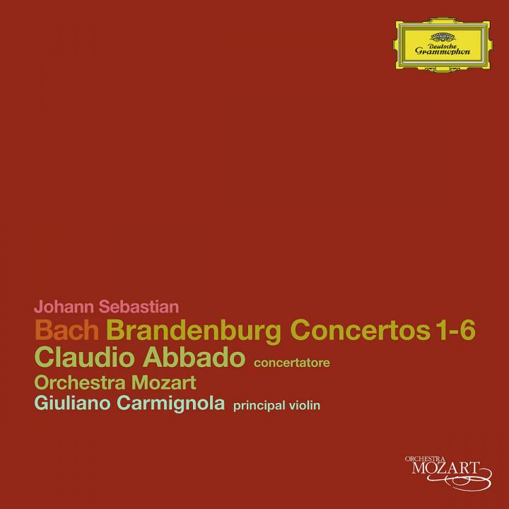 Brandenburg Concertos 1-6: Abbado,Claudio/Orchestra Mozart