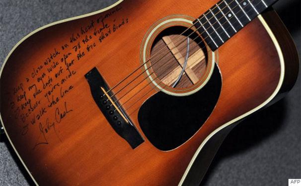 Johnny Cash, Erfolgreiche Auktion von Johnny Cash's Nachlass