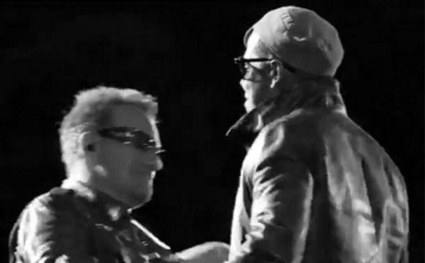 U2, U2 und Jay-Z zusammen on Stage!