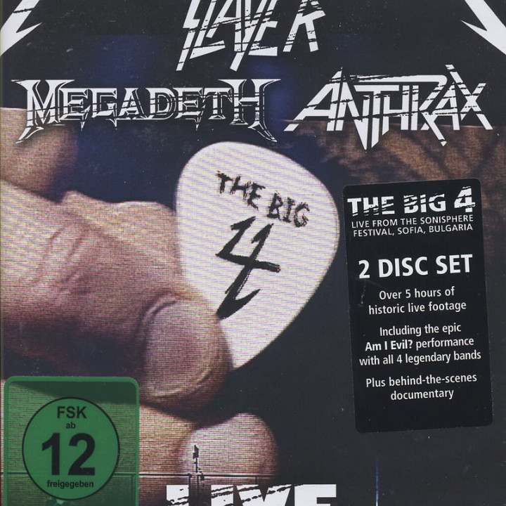 The Big Four: Live From Sofia Bulgaria