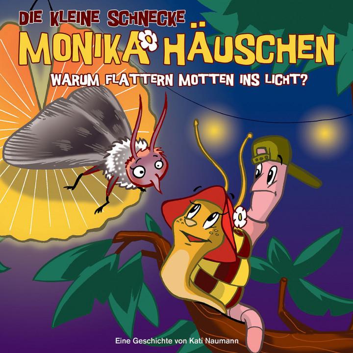 17: Warum flattern Mottenisn Licht?: Die kleine Schnecke Monika Häuschen