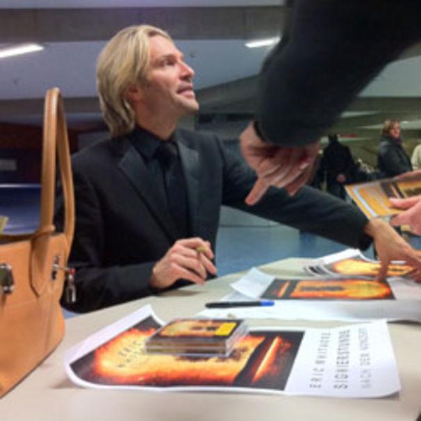 Eric Whitacre, Eric Whitacre feiert sein Deutschland-Debüt in Hamburg