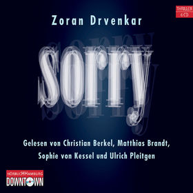 Zoran Drvenkar, Sorry, 09783869090504