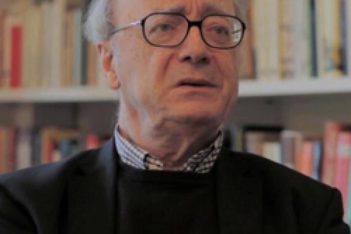 Alfred Brendel Bildausschnitt vom Interview 2010 © KlassikAkzente