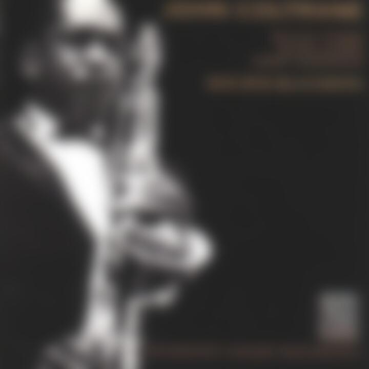 Bye Bye Blackbird: Coltrane,John