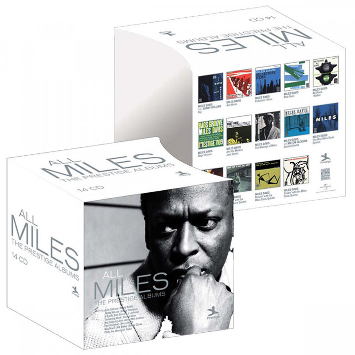 ALL MILES - The Prestige Albums