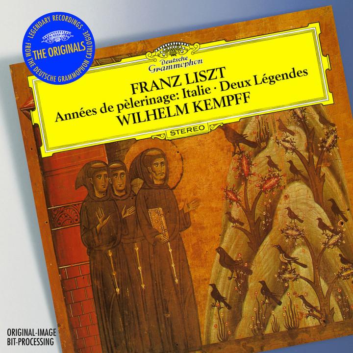 Liszt: Années de Pèlerinage, Italie (Excerpts); Gondoliera; Deux Légendes