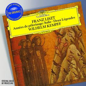 The Originals, Liszt: Années de Pèlerinage, Italie (Excerpts); Gondoliera; Deux Légendes, 00028947793748