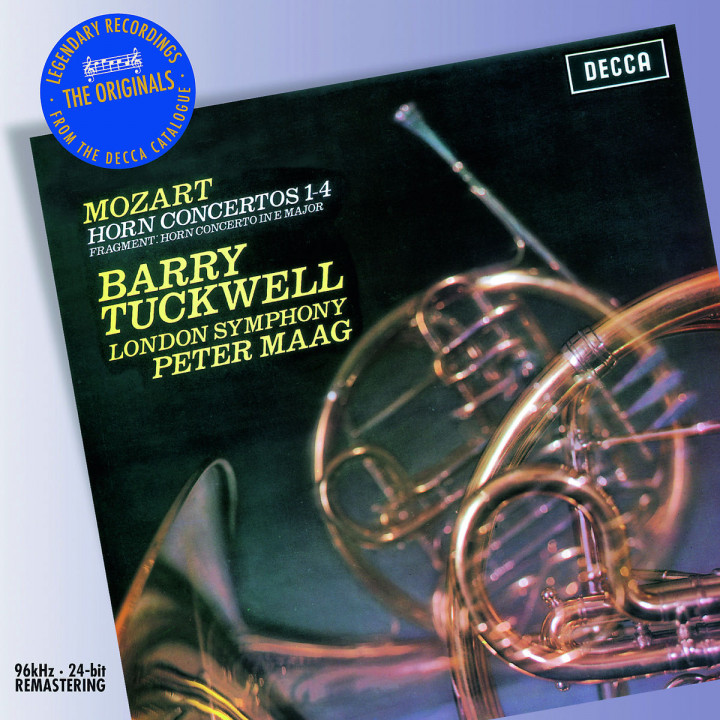 Hornkonzerte 1-4/+: Tuckwell,B./London Symphony Orchestra/Maag,P.