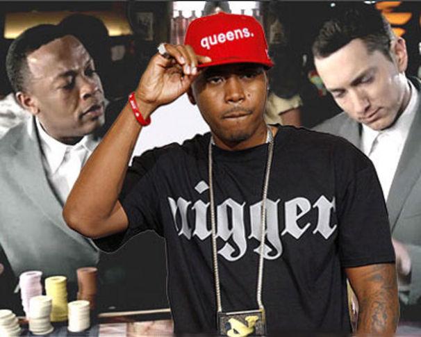 Eminem, Dr. Dre , Eminem und Nas fusionieren