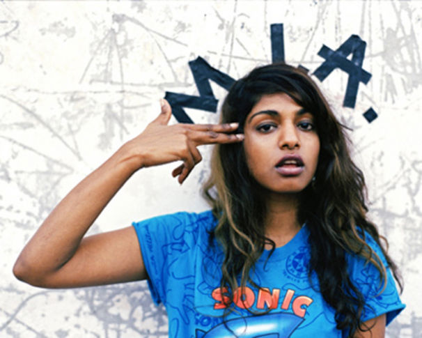 M.I.A., Free Mixtape: M.I.A. – Vicki Leekx