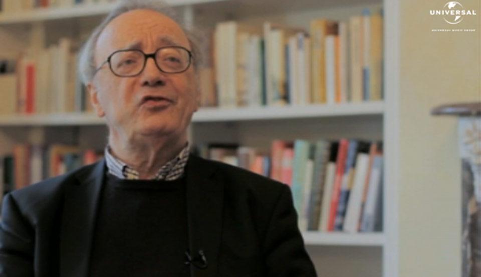 Alfred Brendel, Ein Gespräch mit Alfred Brendel zu seinem 80. Geburtstag