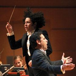 Gustavo Dudamel, Gustavo Dudamels Premiere bei der Late Night Show von Jay Leno