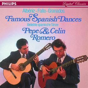 Manuel de Falla, Granados/Falla/Albéniz: Famous Spanish Dances, 00028941143228