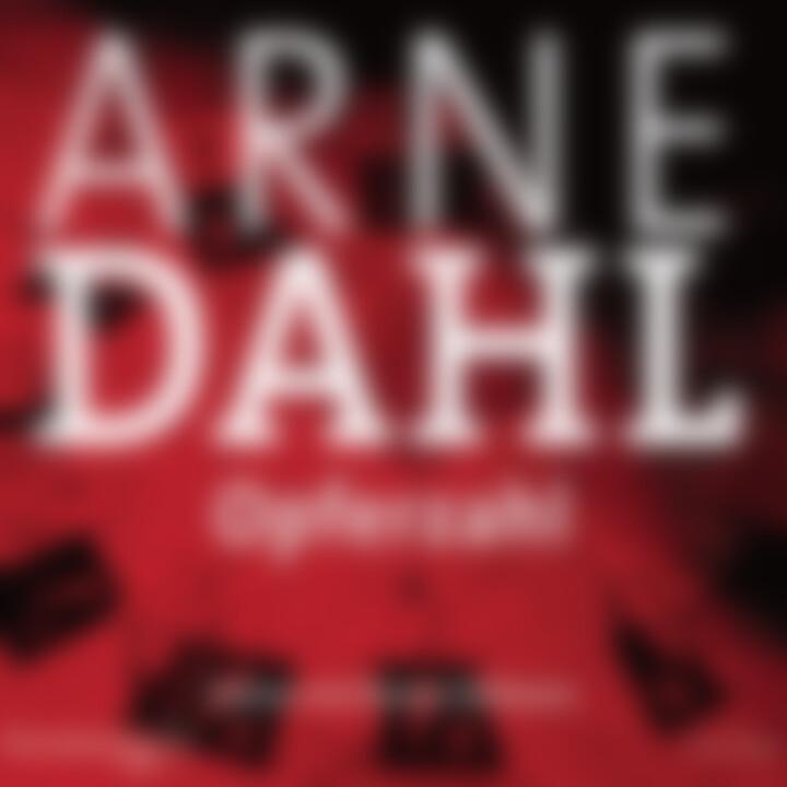 Arne Dahl: Opferzahl: Hellmann,Hannes/ Simon,Alexander