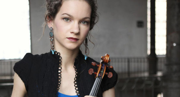 Hilary Hahn, Perspektiven für Geige und Orchester - Das neue Album von Hilary Hahn
