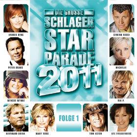 Various Artists, DIE GROSSE SCHLAGER STARPARADE 2011 FOLGE 1, 00602527622163