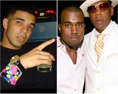 Drake, Drake sauer auf Kanye West und Jay-Z?