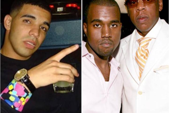 Drake+Kanye+Jay-Z
