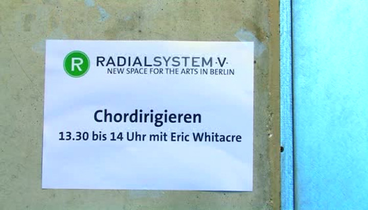 Eric Whitacre zu Gast im Berliner Radialsystem