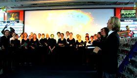 Eric Whitacre, Eric Whitacre zu Gast bei Saturn im Berliner Europacenter