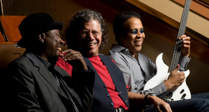 Chick Corea, Stanley Clarke & Lenny White © Taylor Cruthers