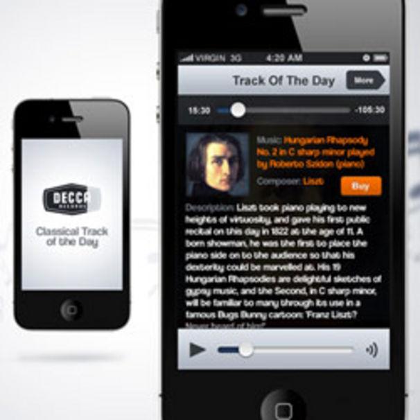 Die Klassik-App für unterwegs