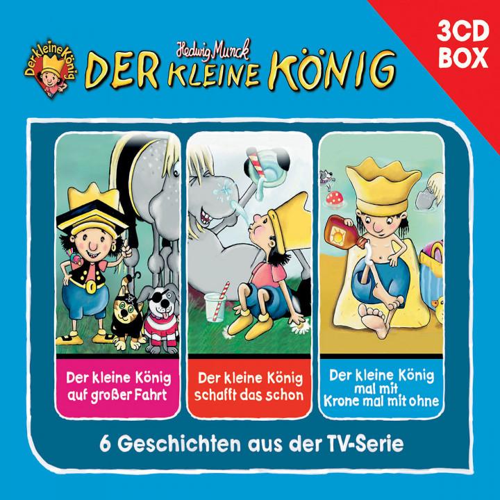 Der kleine König - 3-CD Hörspielbox Vol.2: Der kleine König