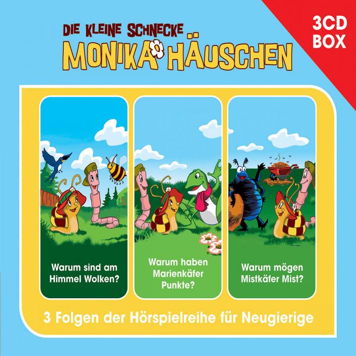 Monika Häuschen 3-CD Hörspielbox Vol.2: Die kleine Schnecke Monika Häuschen
