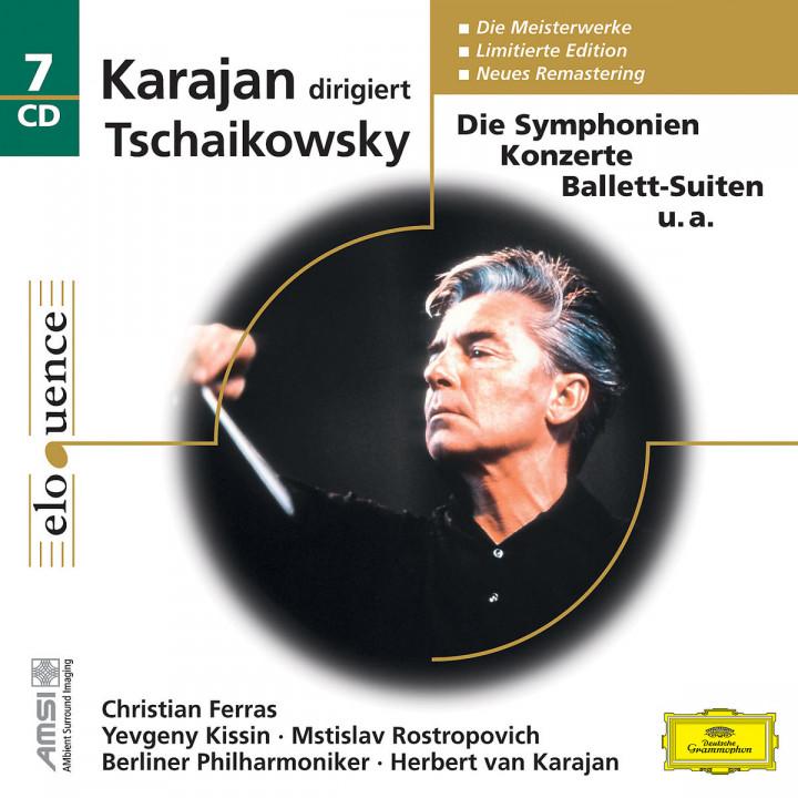 Karajan dirigiert Tschaikowsky (Elo): Karajan/Kissin/Ferras/BP/+