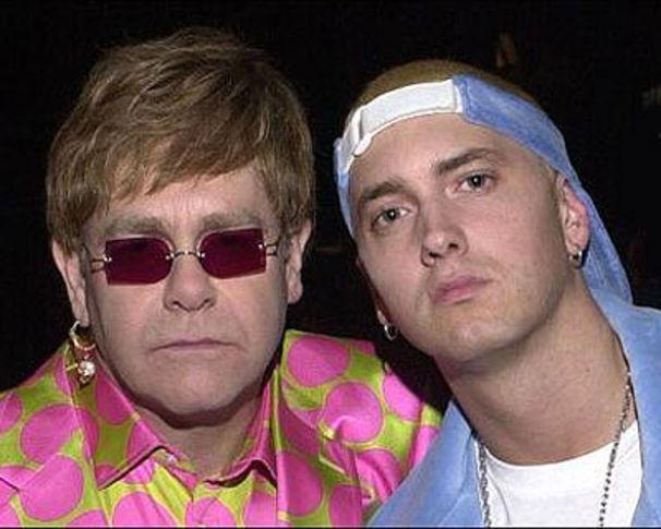 Eminem, Elton John: Porno-Hochzeitsnacht dank Eminem