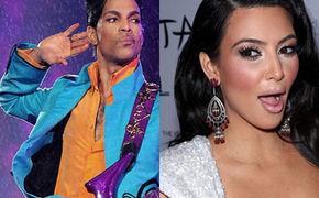 Prince, Prince kickt Kim Kardashian von der Bühne!