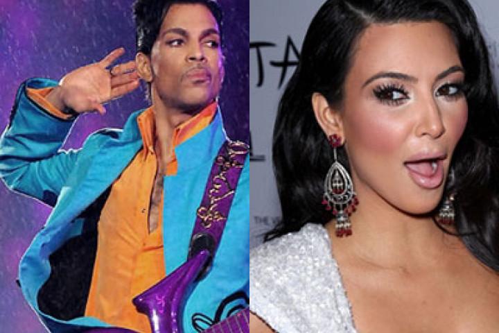 Prince & Kim Kardashian