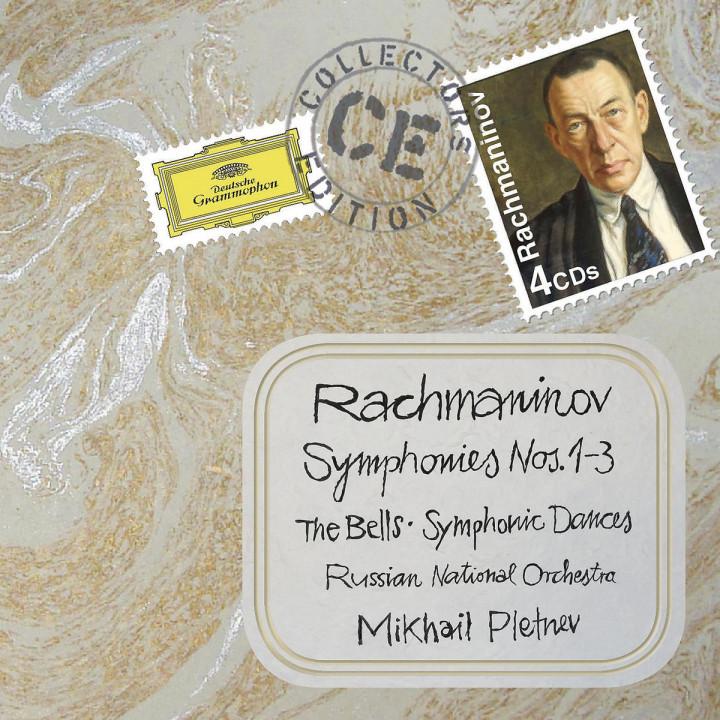 Sinfonien 1-3/Sinf. Tänze/Glocken/+: Pletnev,M./RNO