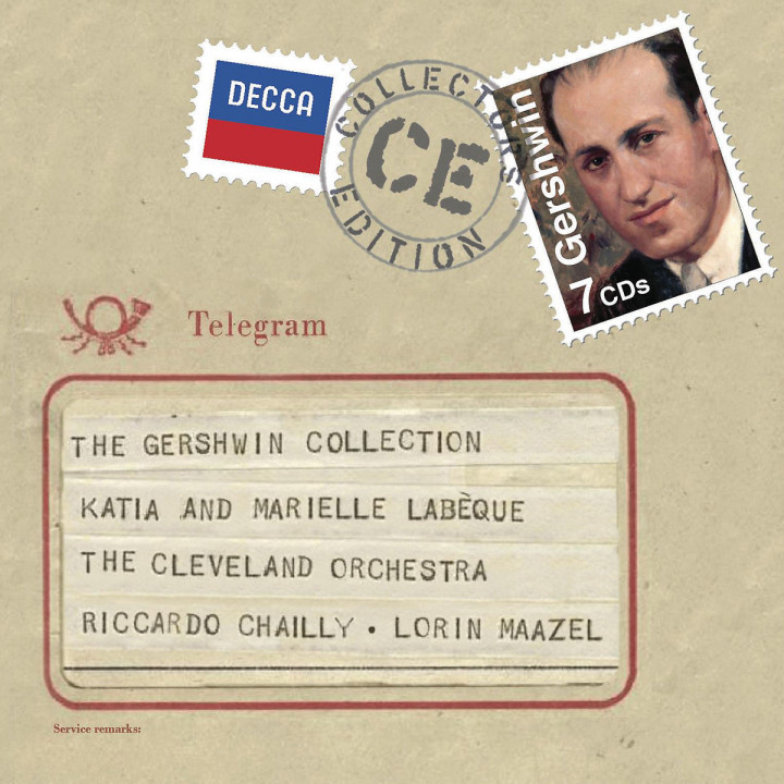 The Gershwin Collection: Labèque,K. & M./Chailly/Maazel/CO