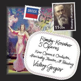 Collectors Edition, Rimsky-Korsakov: Fünf Opern (GA), 00028947827054