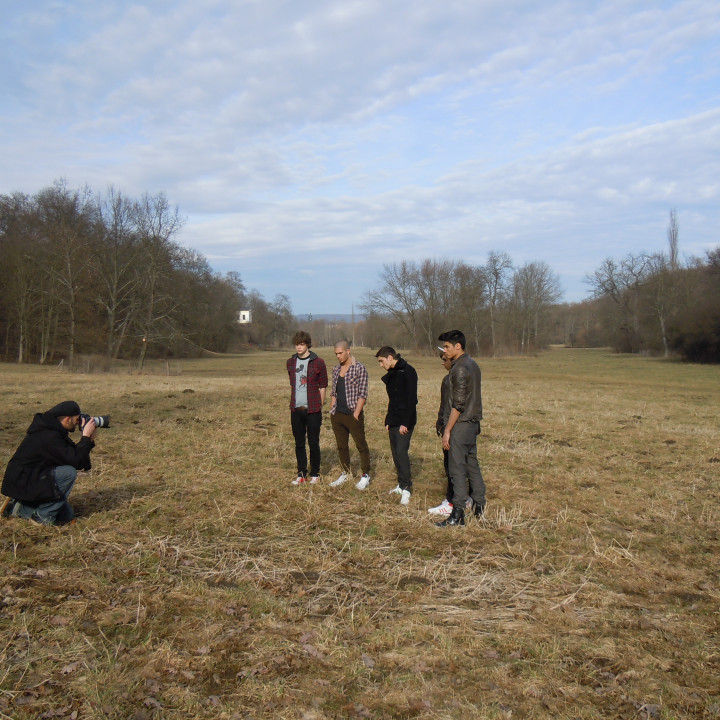 The Wanted Promotour 2011 Fotoshoot 02