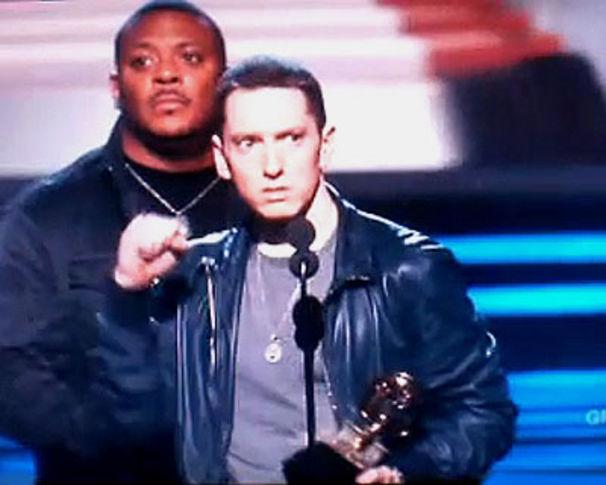 Eminem, Grammy Standing Ovations für Eminem