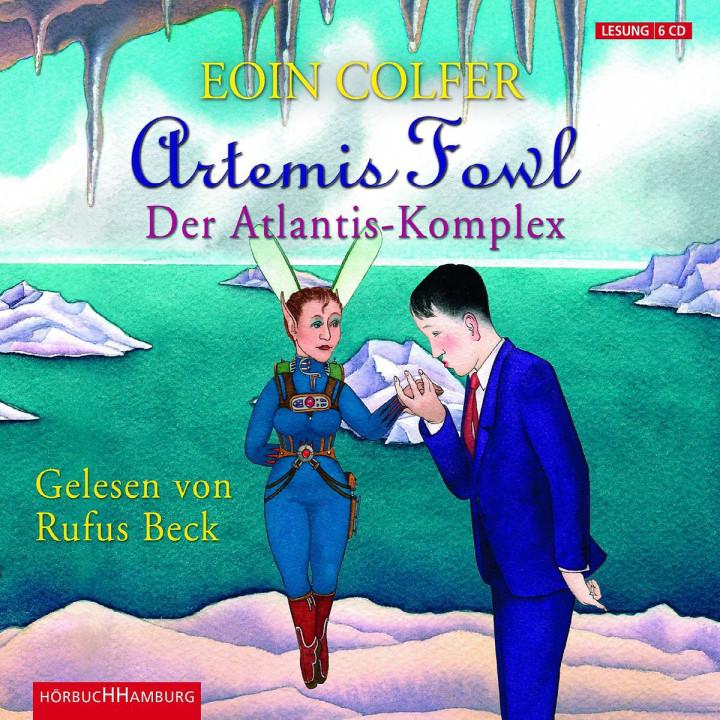 Eoin Colfer: Artemis Fowl - Der Atlantis-Komplex: Beck,Rufus