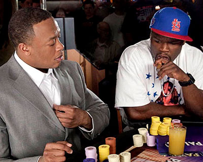 Dr. Dre, OH NO! Dicke Luft zwischen Dr. Dre und 50 Cent!