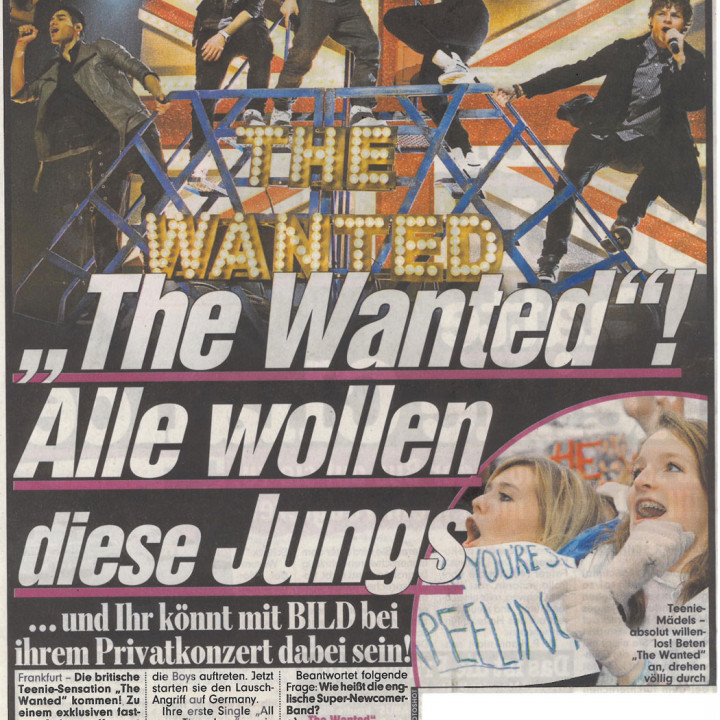 The Wanted Promotour Februar 2011_Presse 3