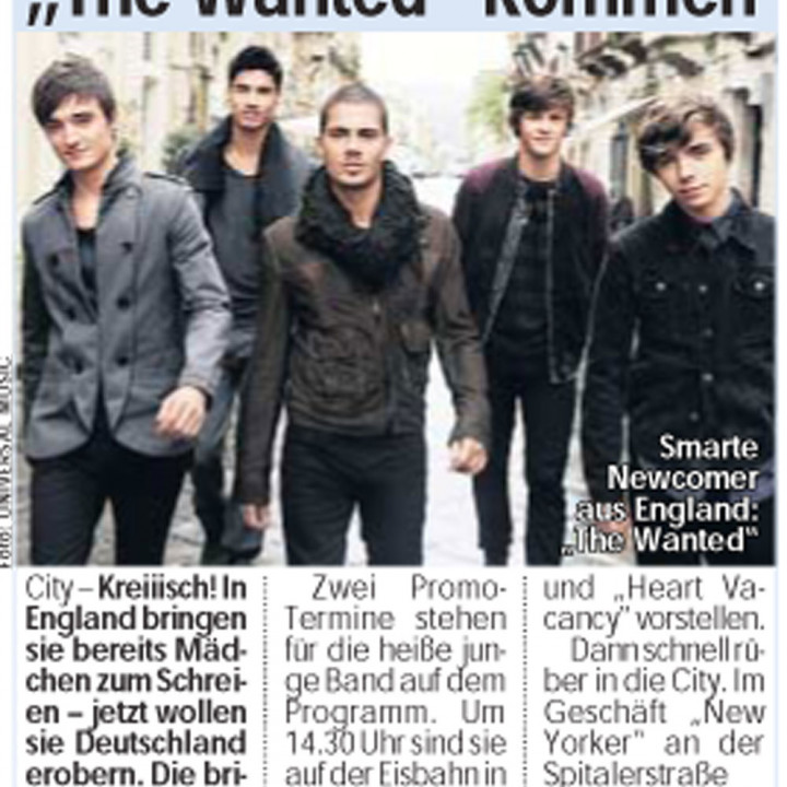 The Wanted Promotour Februar 2011_Presse 4