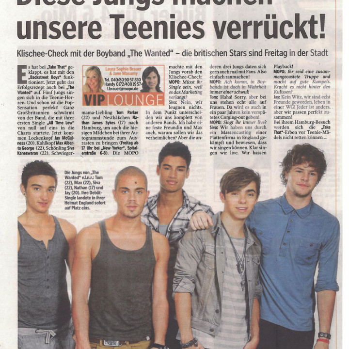 The Wanted Promotour Februar 2011_Presse 12
