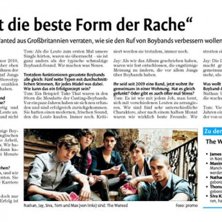 The Wanted Promotour Februar 2011_Presse 16
