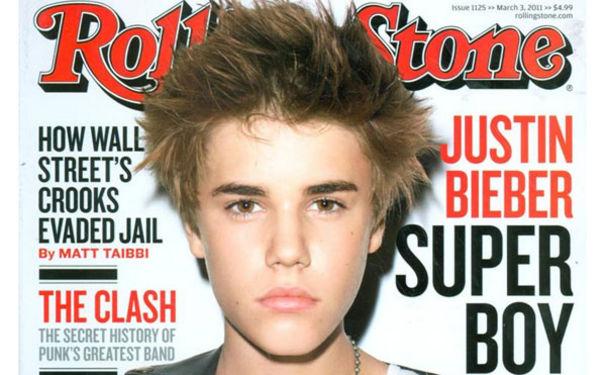 Justin Bieber, Justin im Rolling Stone!
