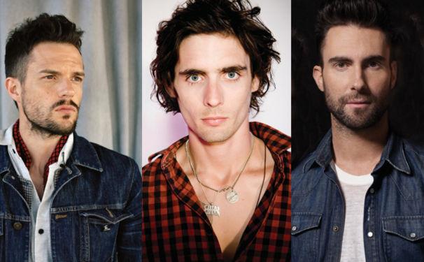 Brandon Flowers, Unter den schönsten Frontmännern: Adam, Brandon & Tyson