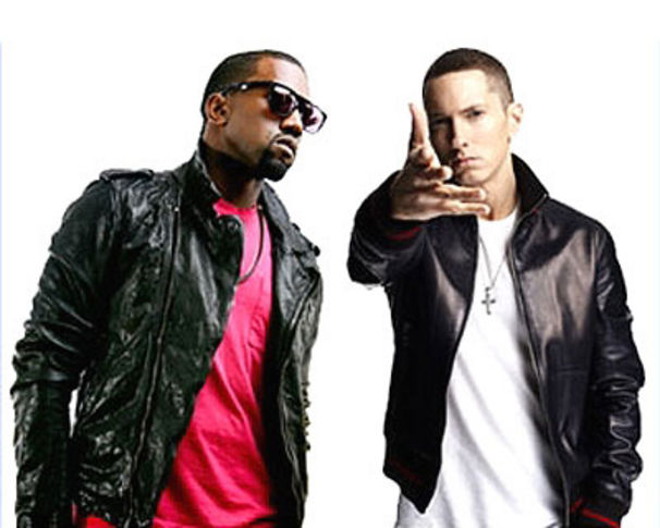 Eminem, Missbrauchen Grammy-Macher EM & Kanye's Namen?