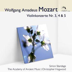 Audior, W.A. Mozart: Violinkonzerte 3, 4 & 5, 00028948048229
